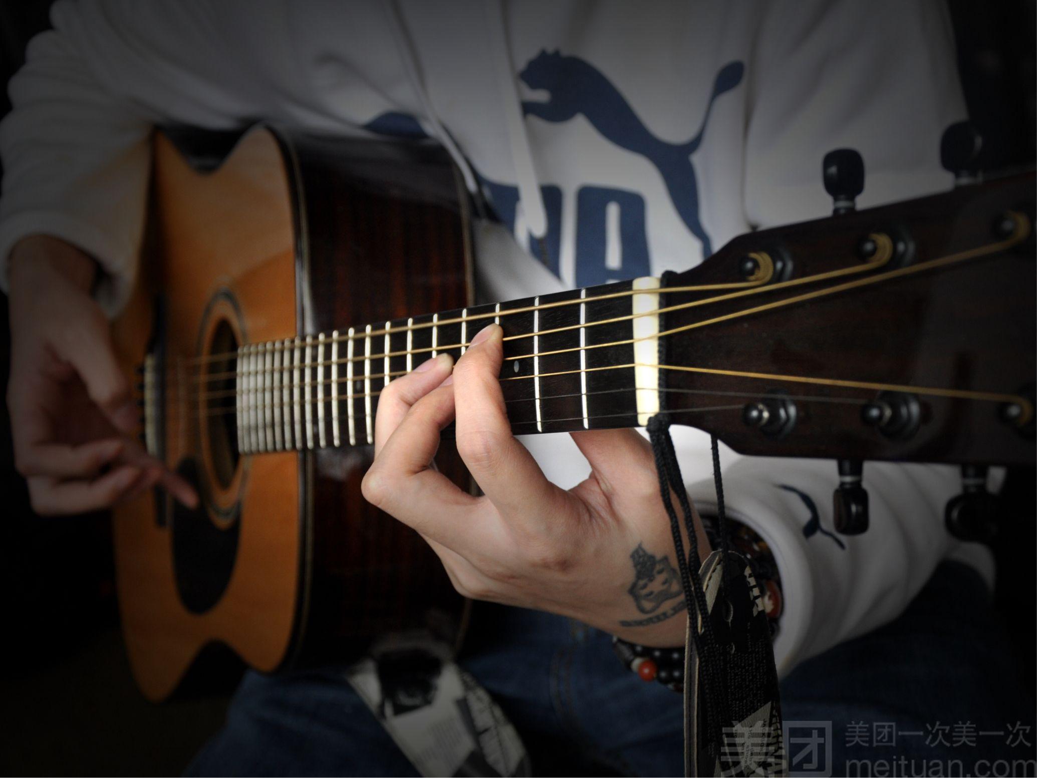 :长沙今日团购:【坚果音乐】一对一吉他体验课