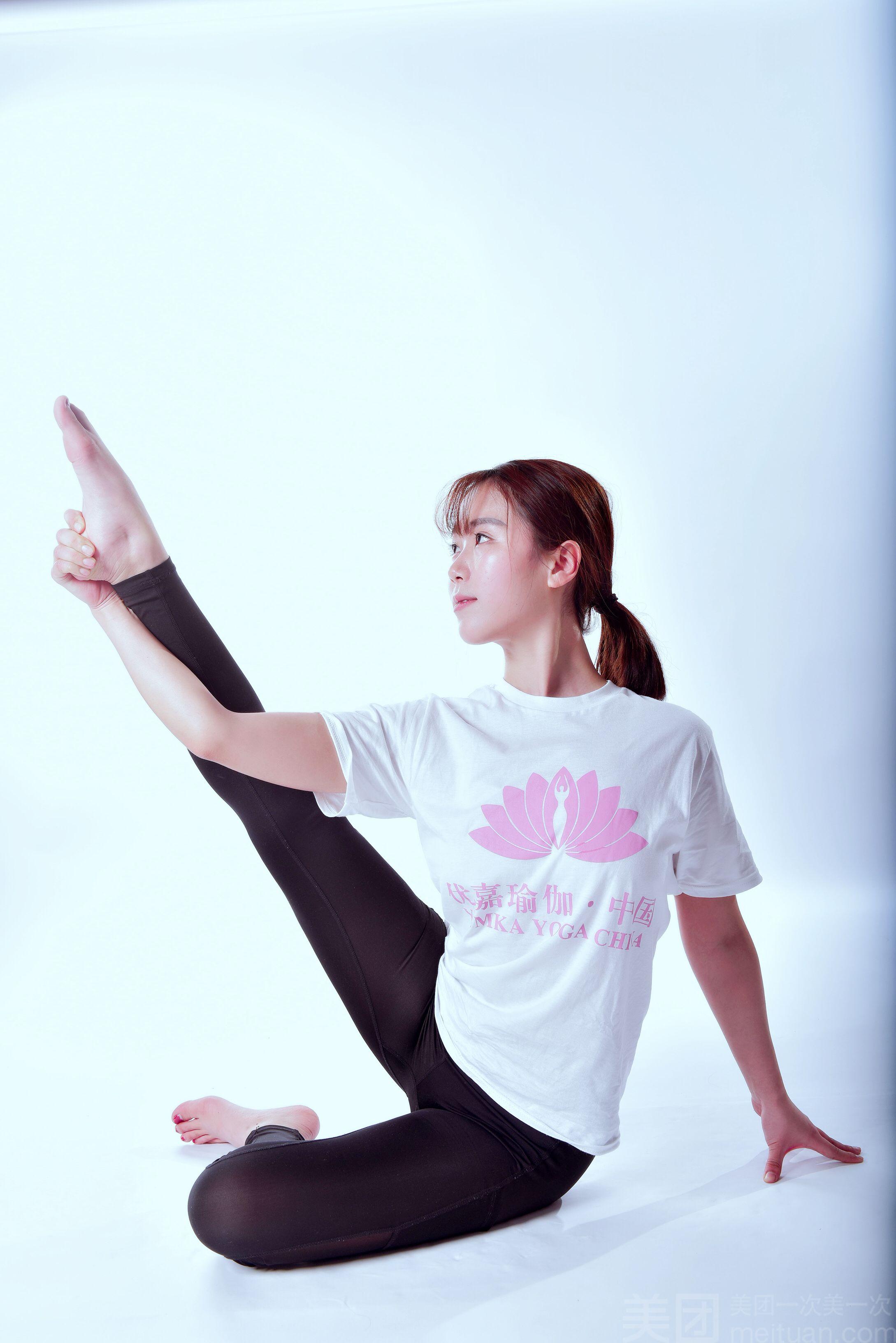 :长沙今日团购:【优嘉瑜伽】单人瑜伽教练培训体验次卡