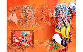 【上海】胭脂国粹京剧儿童成人写真特价团-美团