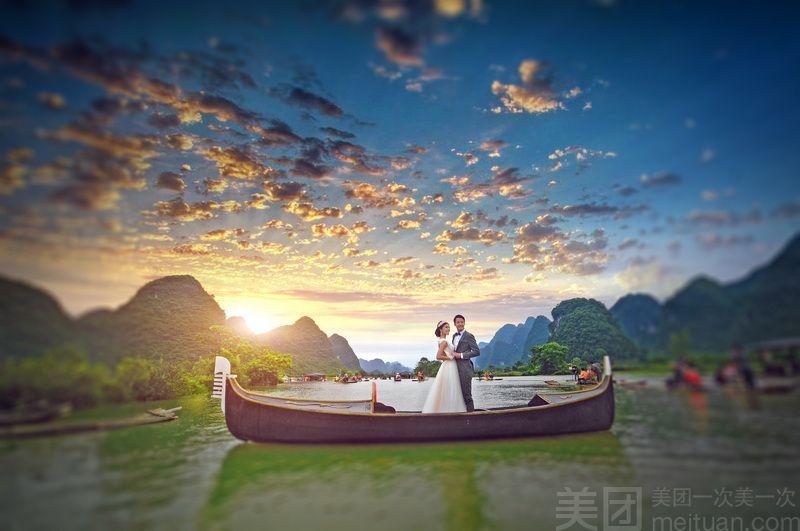 【柳州市白桦林婚纱摄影】桂林幸福岛旅游婚纱套餐