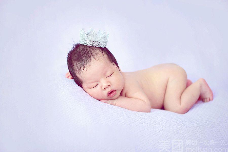 :长沙今日团购:【艾丽宝贝专业儿童摄影】新生儿上门拍摄