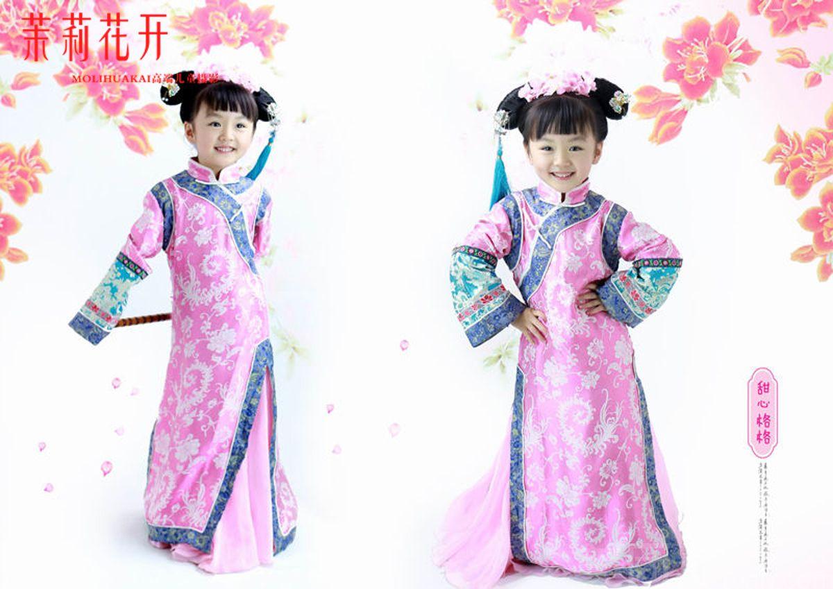 【茉莉花开儿童摄影】中国风儿童古装单人摄影套餐(超高性价比) 原价