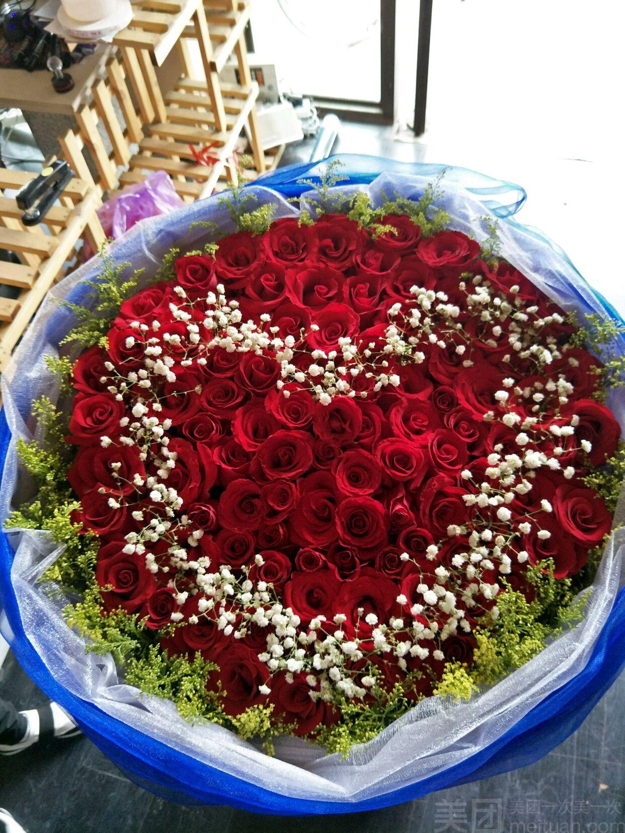 加洲花艺-美团