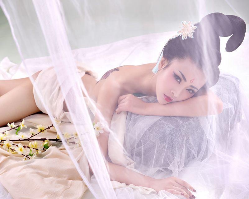 【罗马嫁日婚纱摄影】个人写真/艺术写真/闺蜜照/孕妇照中国风古装