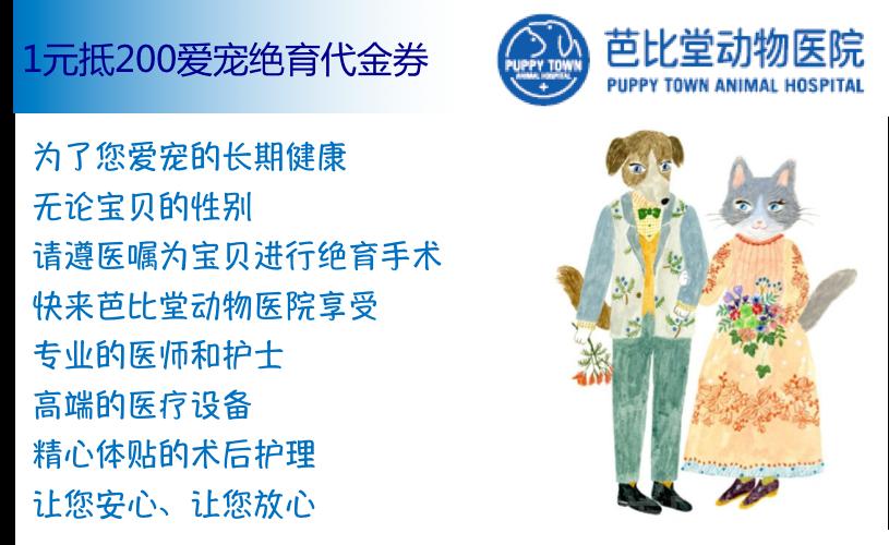 芭比堂动物医院(上海机灵鬼分院)-美团
