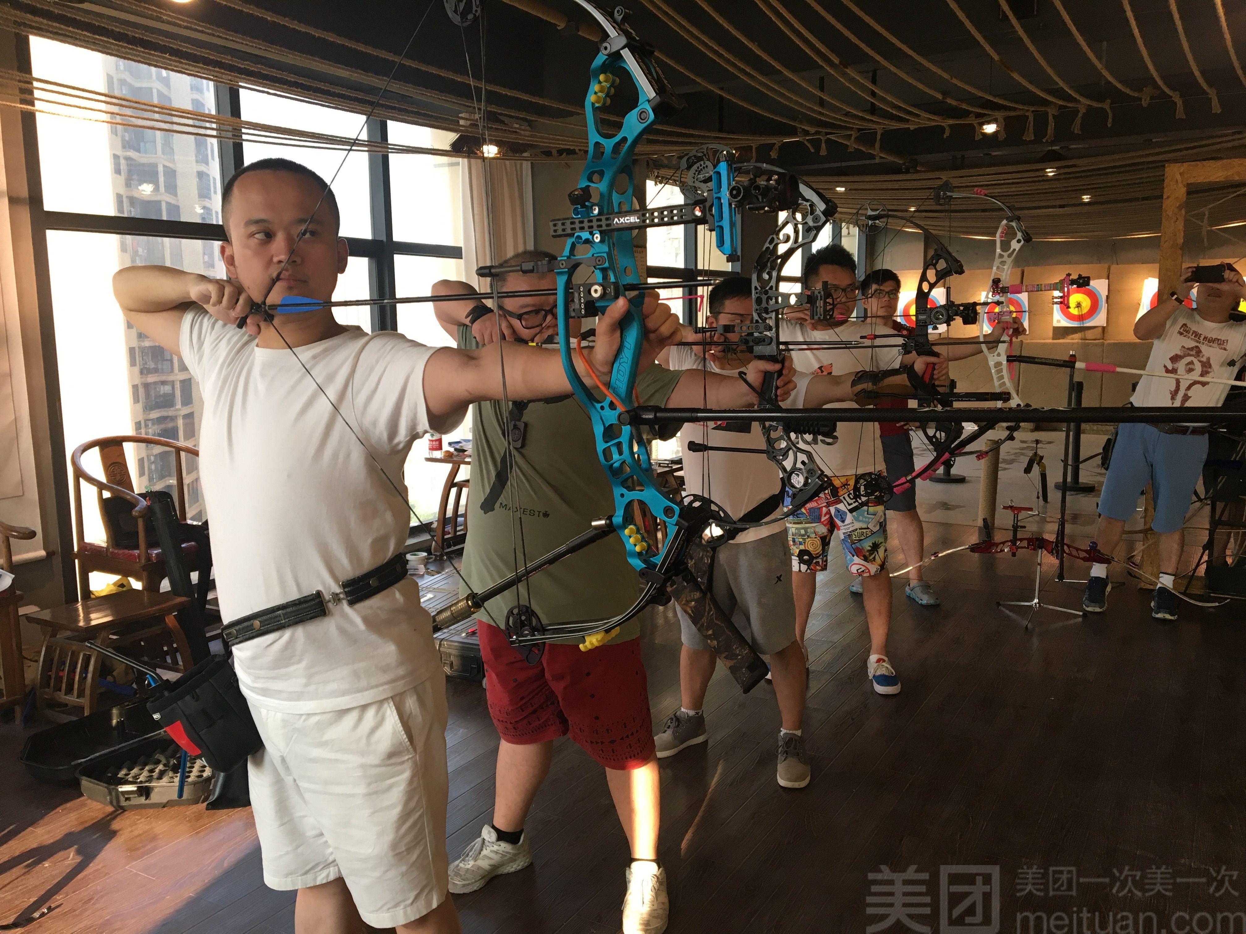 :长沙今日钱柜娱乐官网:【柒弓馆】柒弓馆双人射箭体验一小时