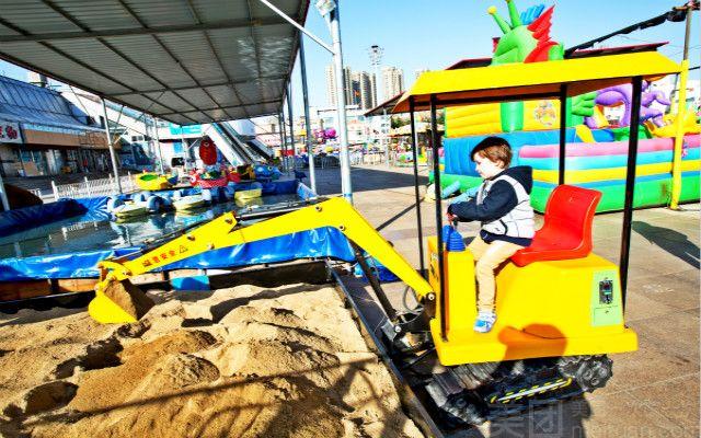 五彩城儿童游乐场-美团