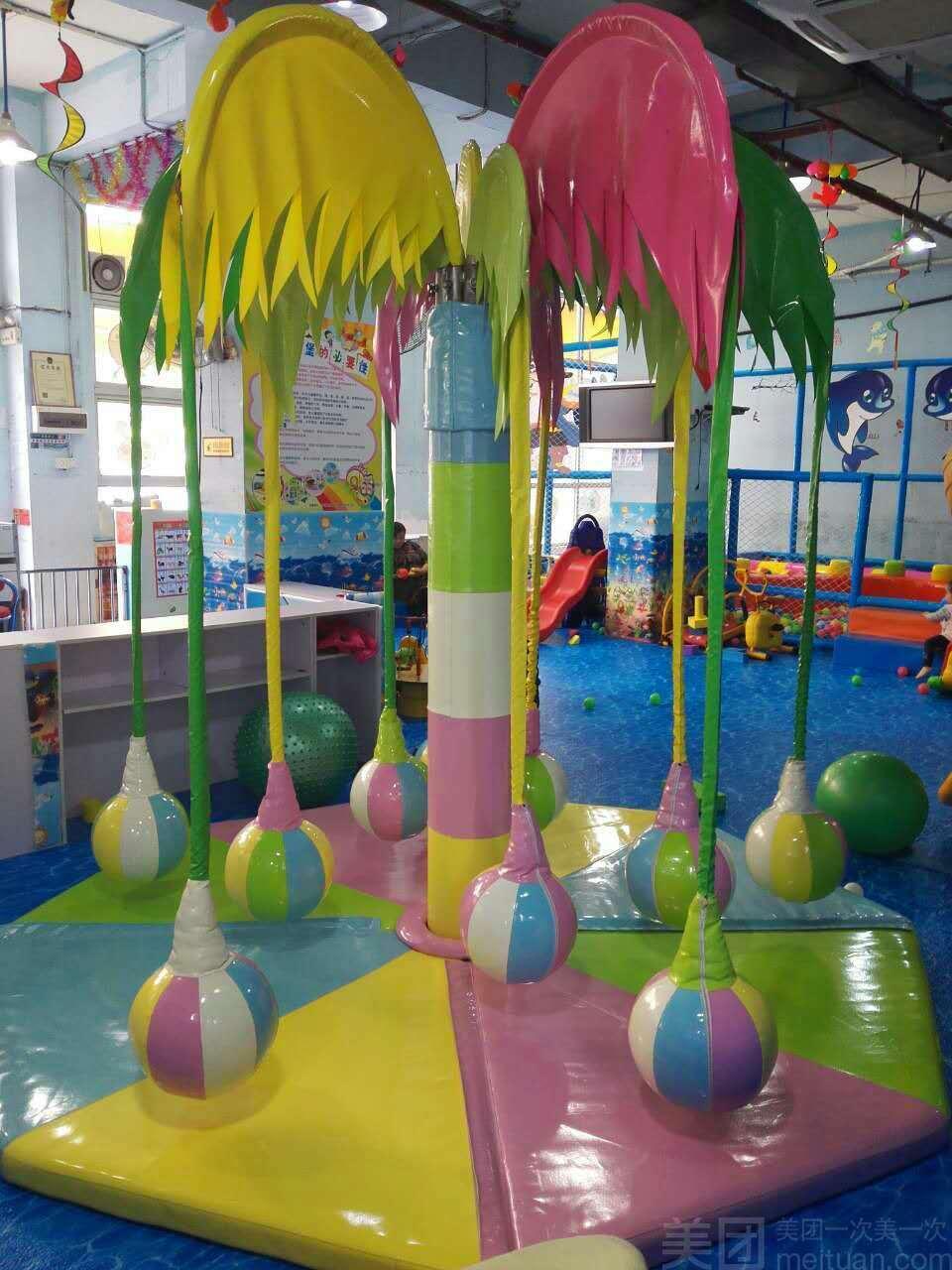 梦幻岛儿童游乐园-美团