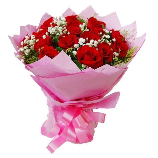 予人玫瑰-春暖花开花店-美团