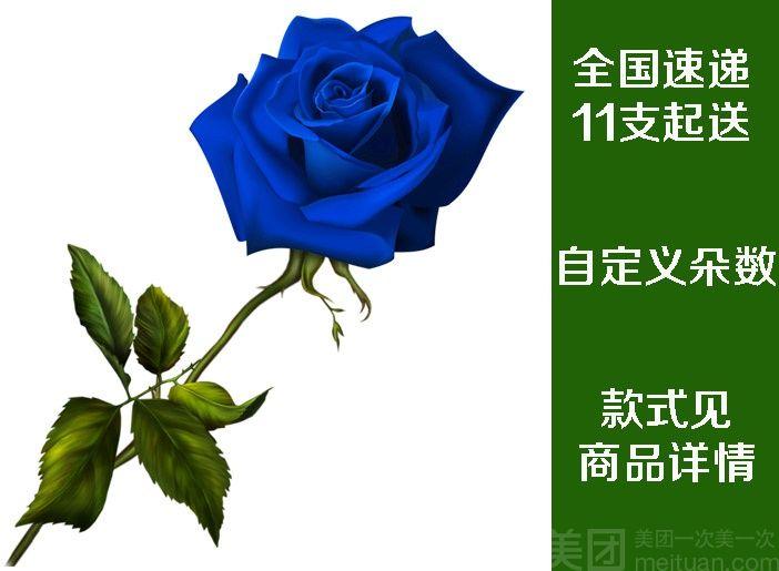 钟爱鲜花--一家花卉-美团