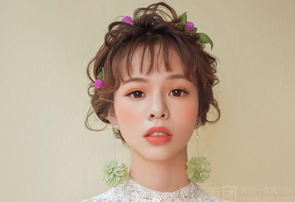 【沐希造型】森系新娘拍摄跟妆