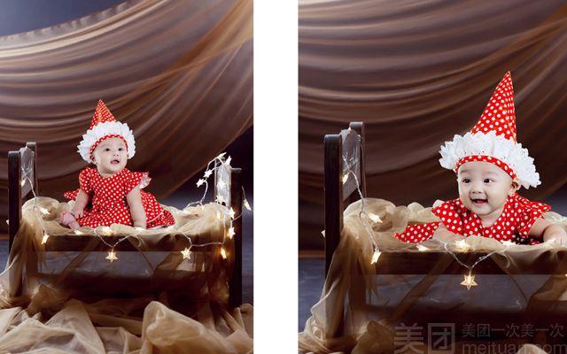 格林童趣摄影店怎么样 团购格林童趣摄影店 3D立体单人儿童摄影 美团