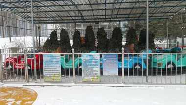 【北京】大望京公园儿童游乐场-美团