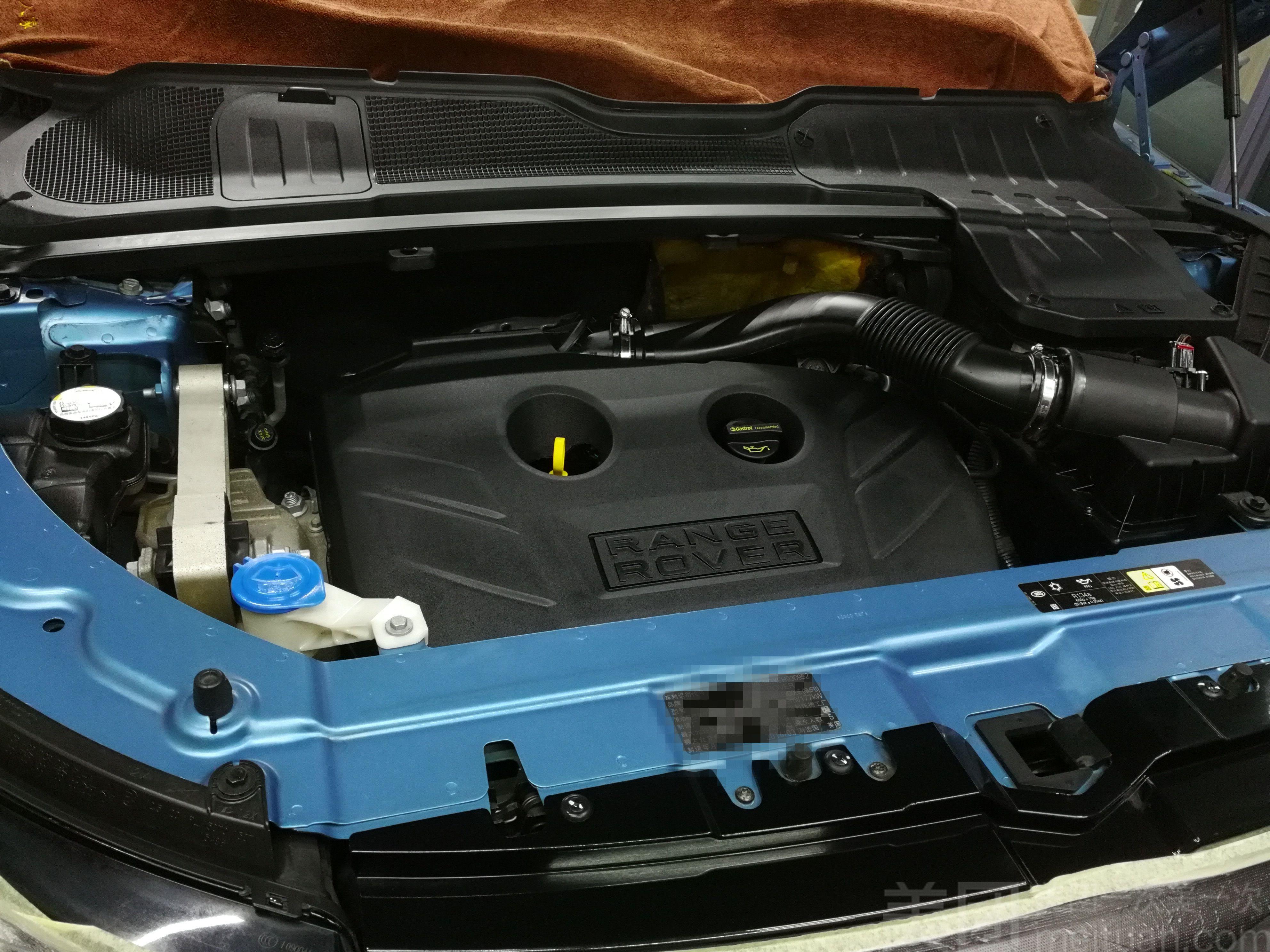【多乐多汽车美容工作室】发动机深度清洗 机舱镀膜套餐