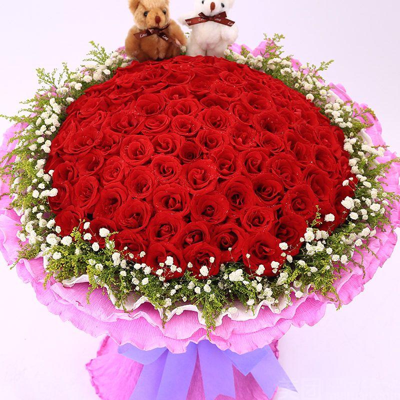 百锦园鲜花店-美团
