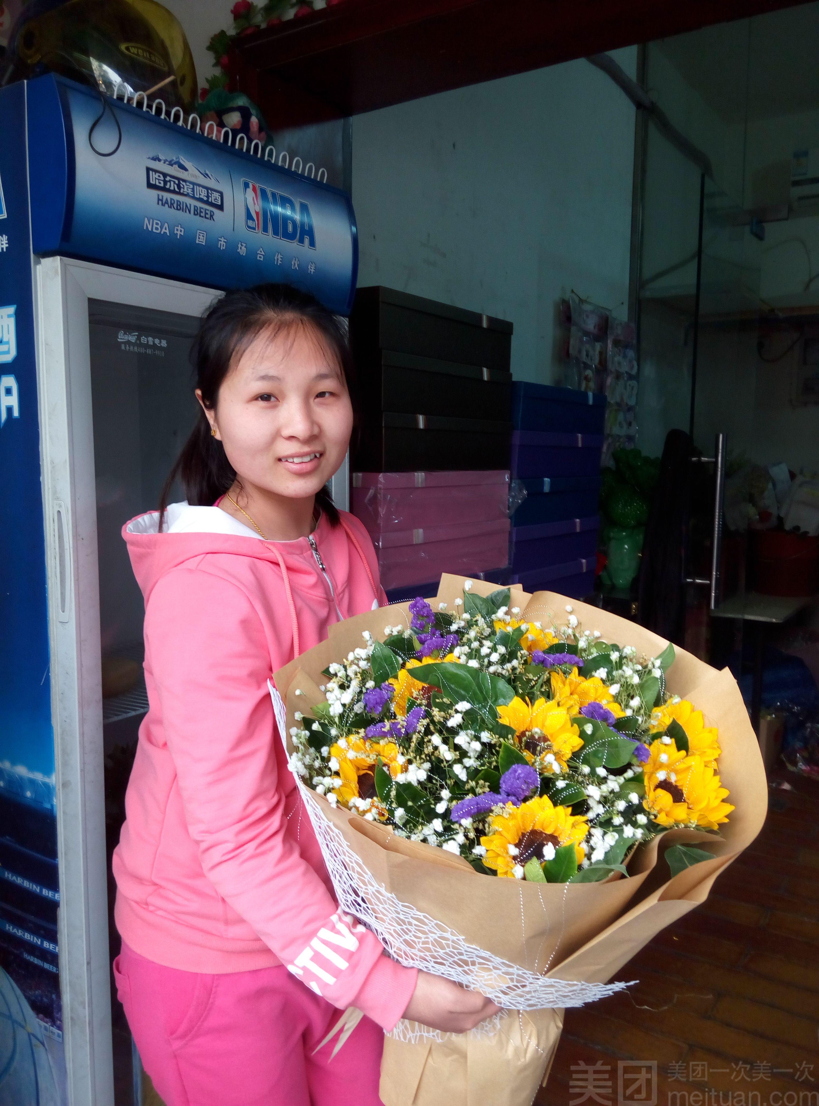 玫瑰花季鲜花店-美团