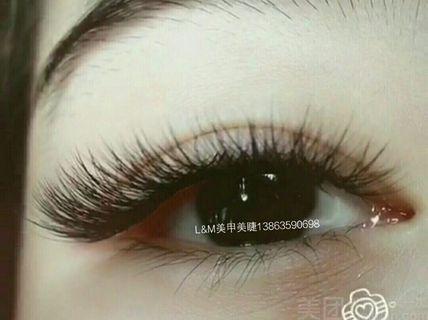 美甲美睫 3D山茶花无感嫁接睫毛 北京美团网