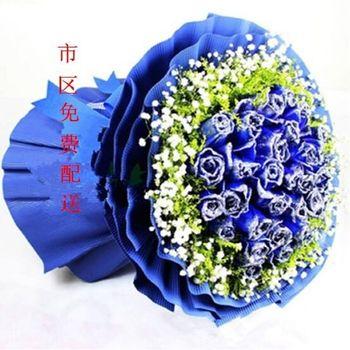 【霸州等】幸福花坊-粉色花艺-美团