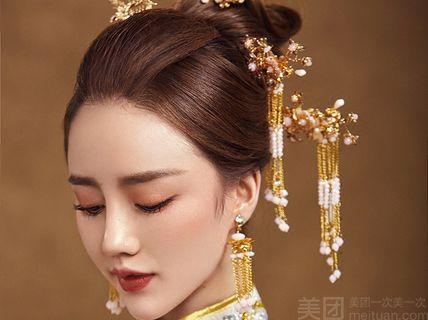颜悦化妆造型店颜悦化妆造型店-新娘早妆-北京美团网图片