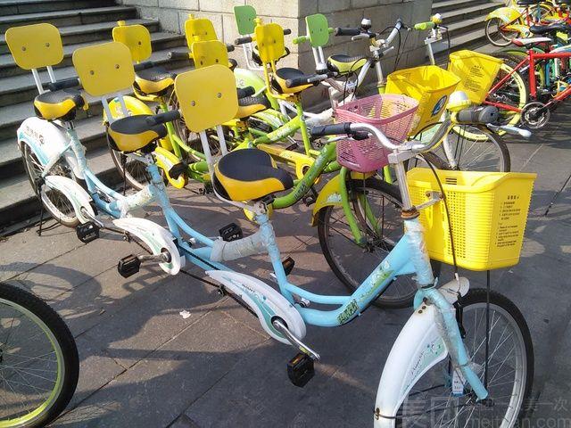 :长沙今日团购:【欢乐踩单车】双人单车2选1