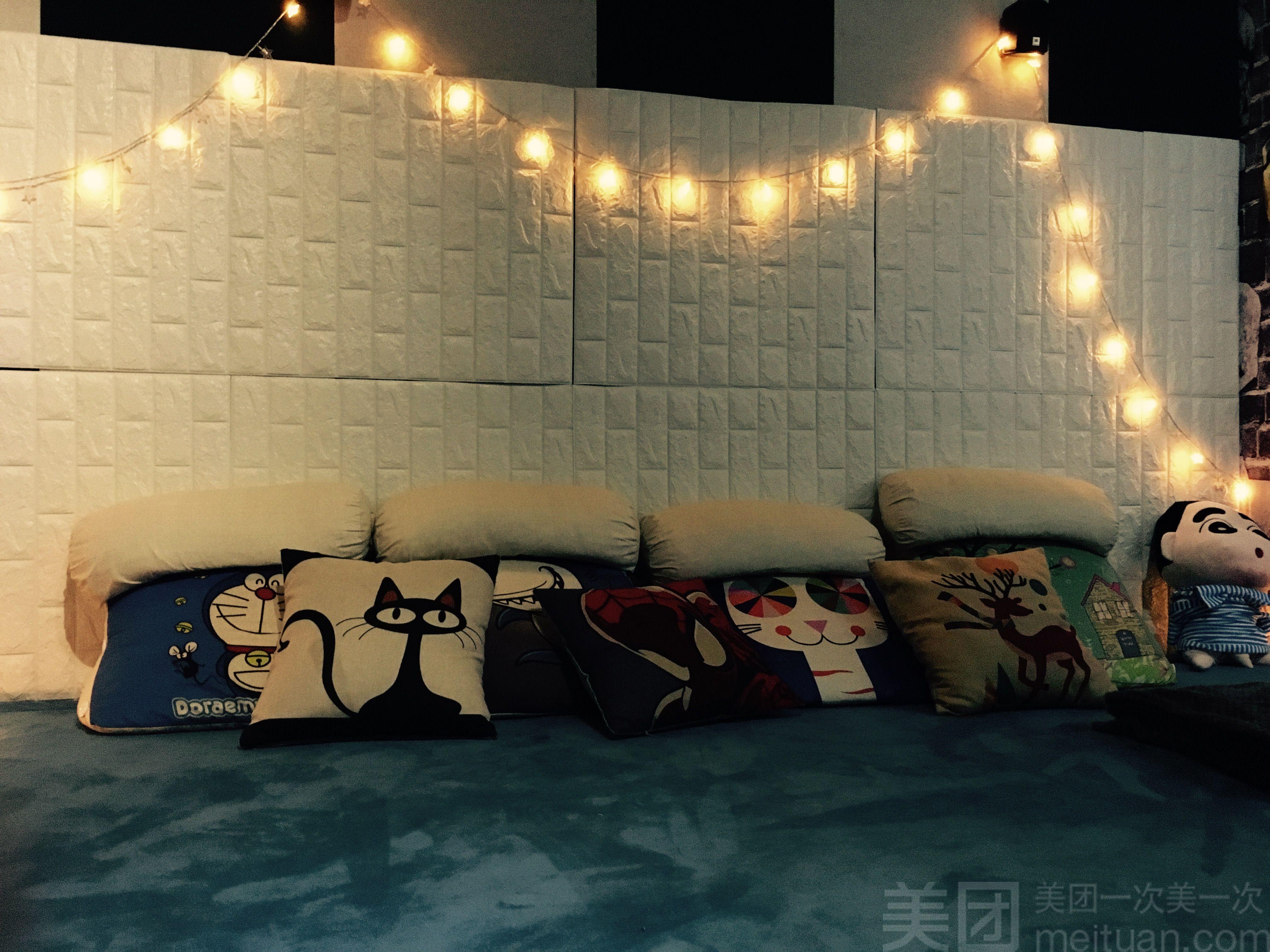 :长沙今日钱柜娱乐官网:【邂逅光影私人影院】双人情侣榻榻米床吧通宵场