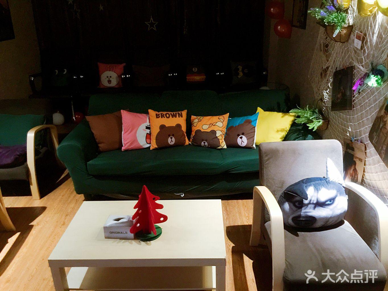 妮可沙发搭配效果图