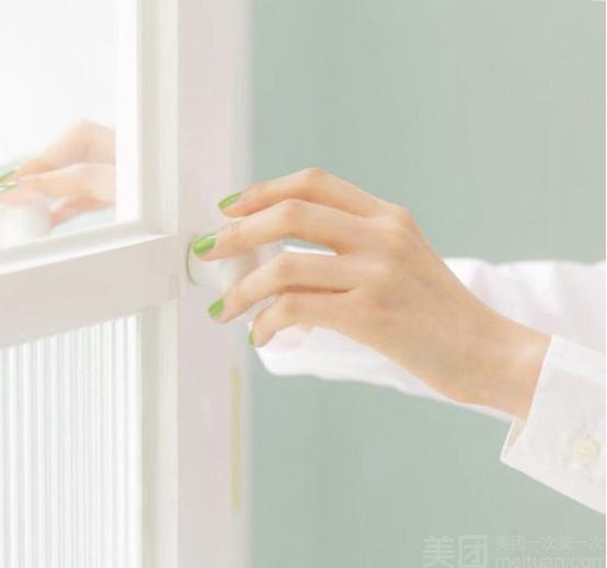 :长沙今日团购:【水玲珑美发连锁】单人单色美甲