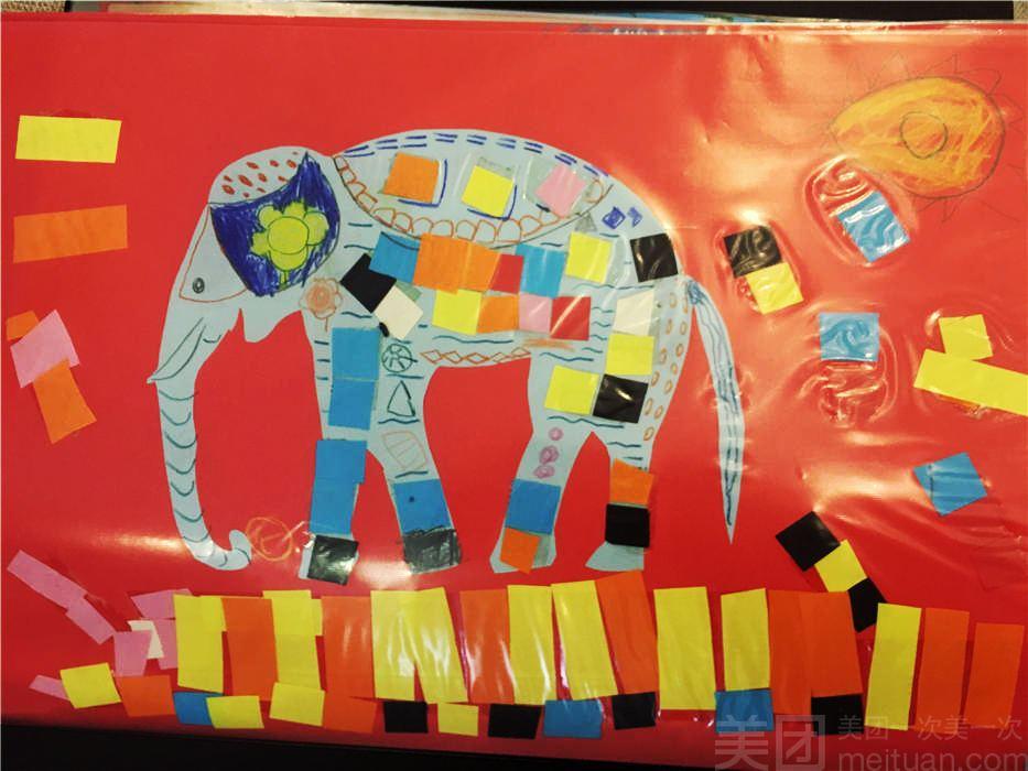 艺术空间 单人儿童创意手工 绘画2选1体验1小时 美团网
