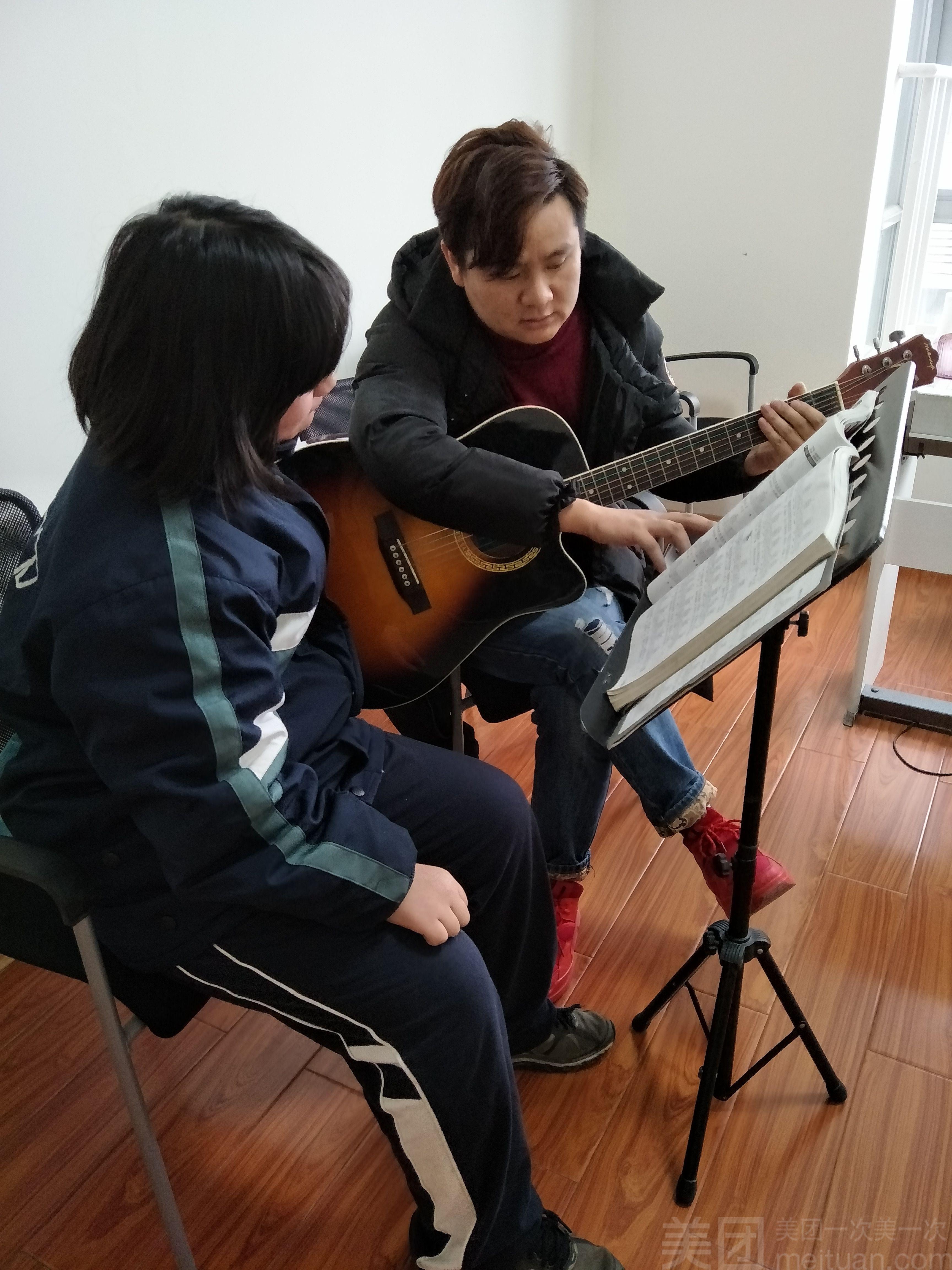:长沙今日团购:【乐森音乐唱歌培训】暑假(吉他)集体课火热开班中