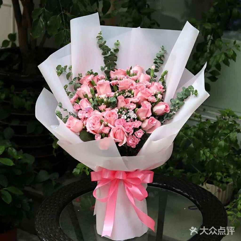 19支玫瑰花束韩式包装