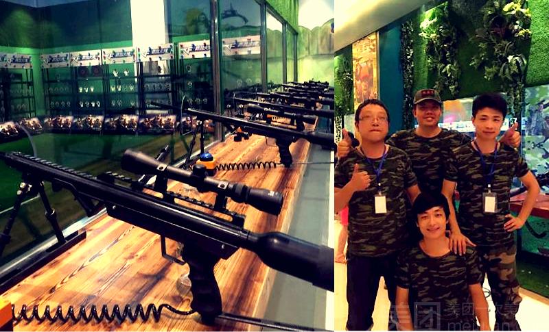 :长沙今日团购:【岳麓区】惜惜童趣梦幻世界仅售16元,价值20元狙击手10发子弹!