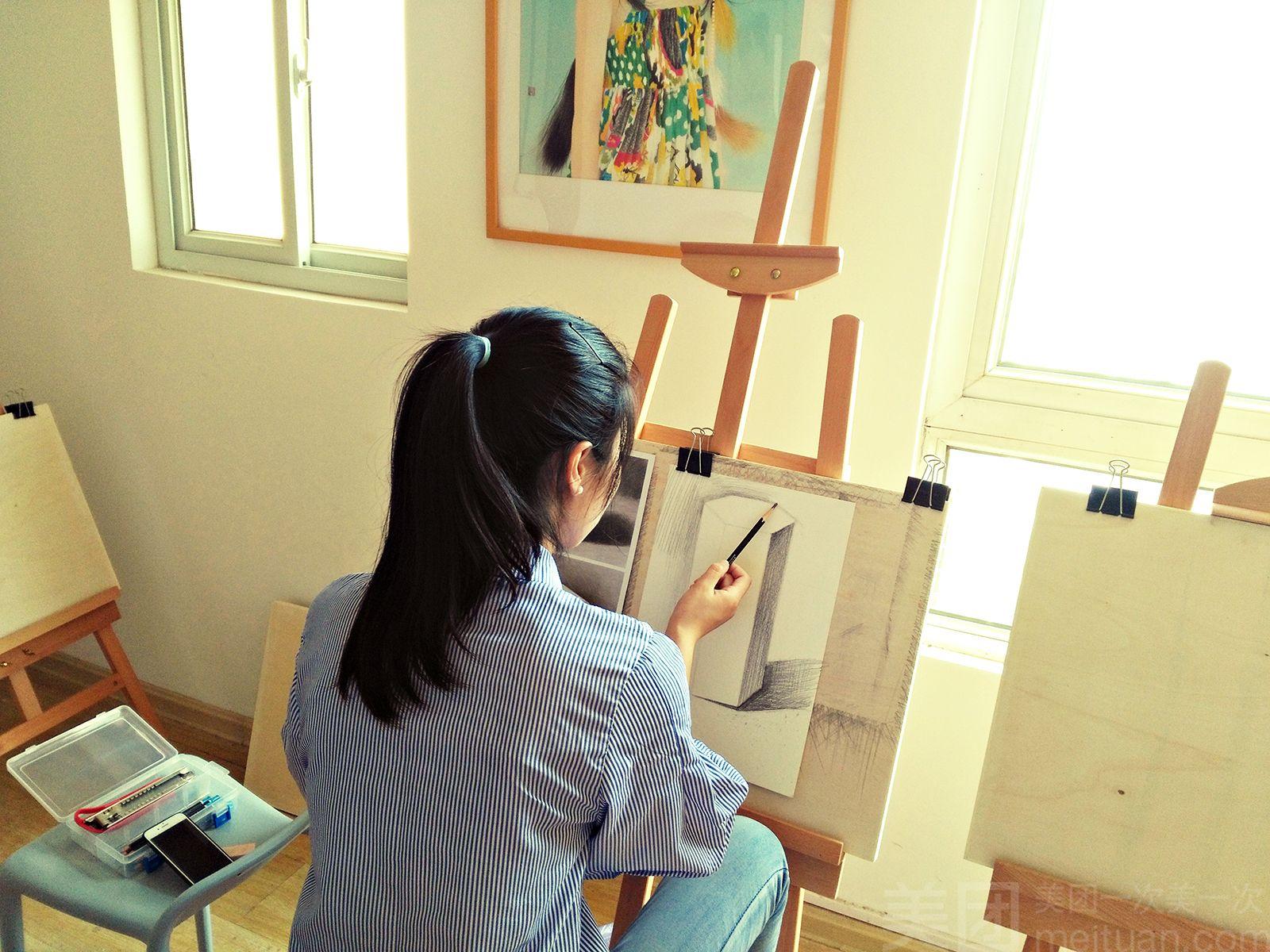 :长沙今日团购:【千绘画苑成人美术】零基础素描单人体验课