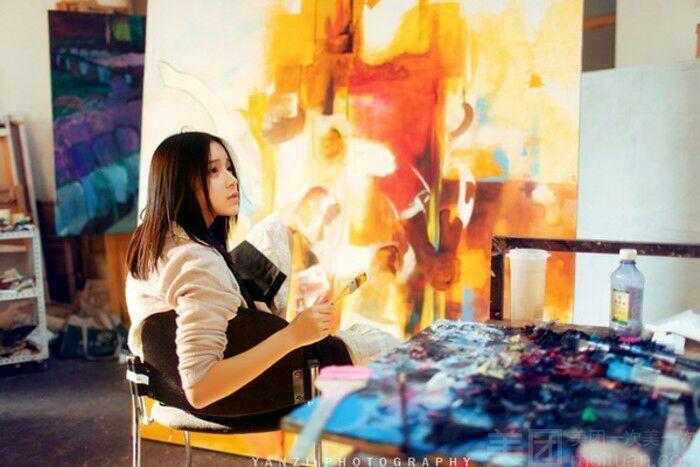画星人陶艺-油画体验馆-美团