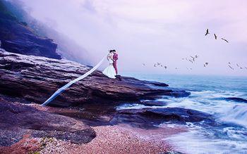 【南京】蔚蓝海岸婚纱摄影-美团