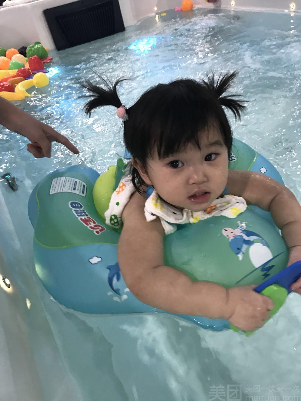 【开心岛婴幼儿spa游泳馆】闲时婴儿游泳单人护理套餐体验