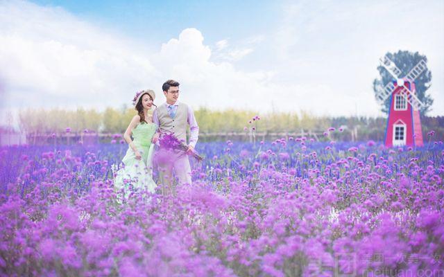 巴黎春天婚纱摄影写真