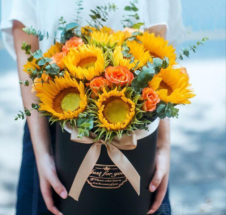 本单详情 套餐内容 单价 数量/规格 小计 1选1 9朵向日葵花束 36.