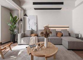 140平米復式現代簡約風格客廳圖