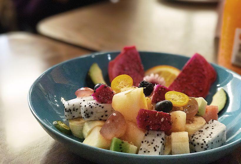 水果沙拉 不得不说祖母的厨房在每道菜品的摆盘和色彩搭配上都下足了图片