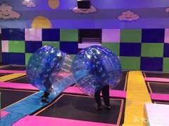 酷跳蹦床体育运动馆的图片