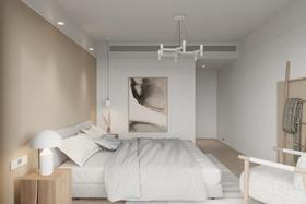 10-15萬100平米三室兩廳日式風格臥室裝修案例