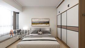 5-10萬90平米三室兩廳現代簡約風格臥室設計圖