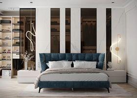 豪華型140平米四室兩廳現代簡約風格臥室裝修案例