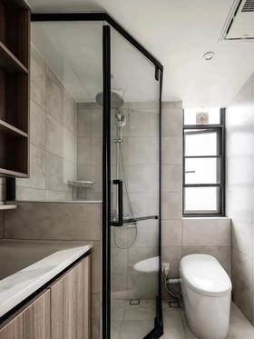 富裕型100平米三室一廳現代簡約風格衛生間裝修案例