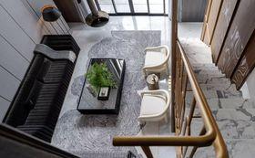 110平米三中式風格客廳裝修圖片大全
