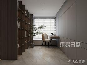 120平米三室兩廳現代簡約風格書房裝修圖片大全