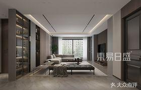 120平米三室兩廳現代簡約風格客廳圖