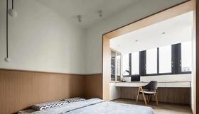 15-20萬100平米三室一廳現代簡約風格臥室裝修案例