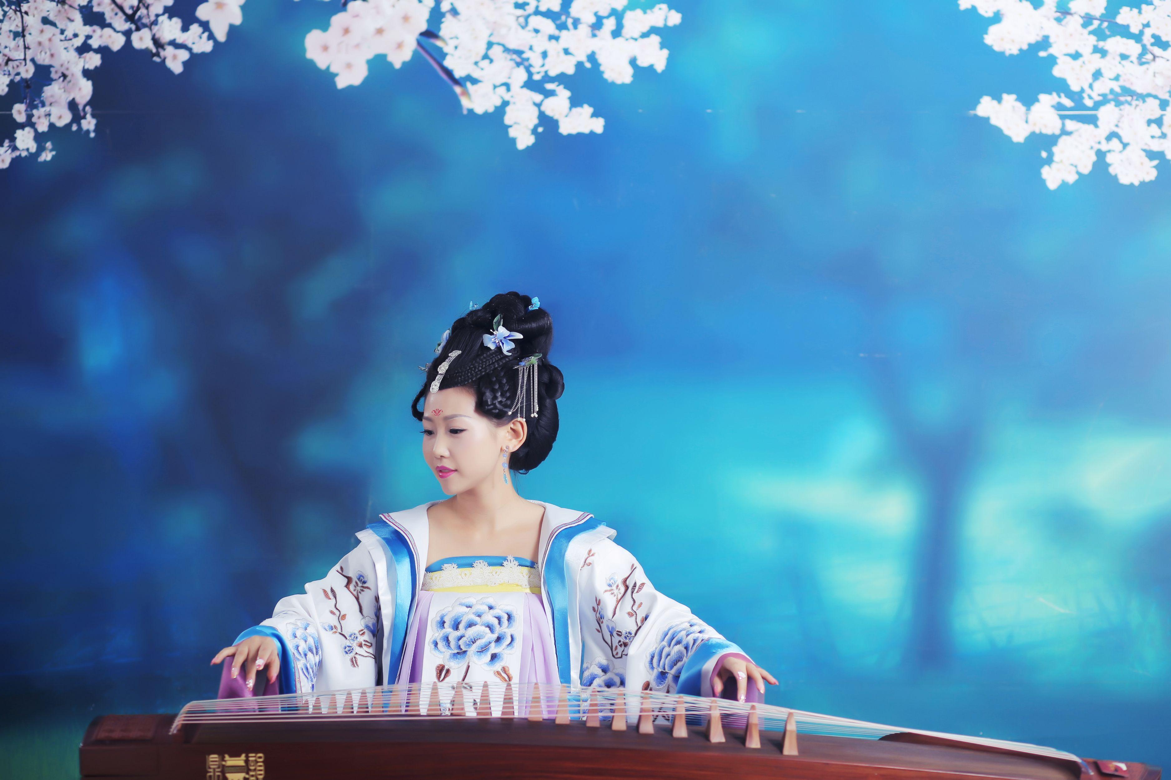 【蛇口上海琴筝和鸣|钢琴女生吉他】皮肤岁14古筝图片