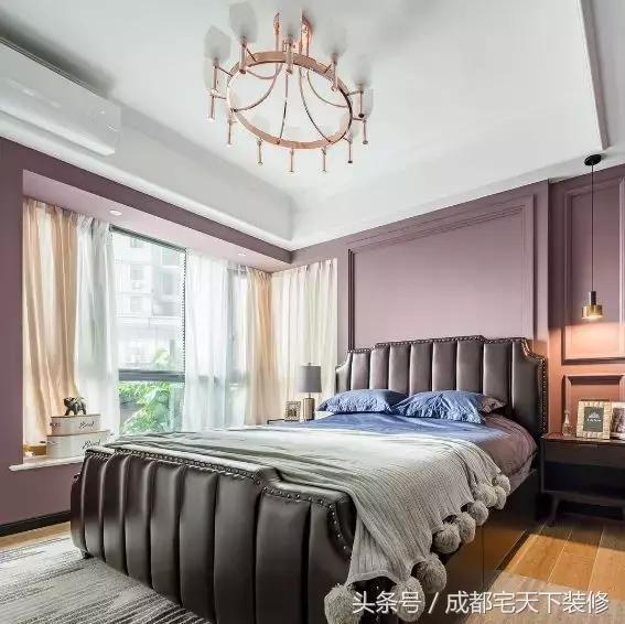 美式风格装修,大爱公主房优雅迷人床幔图片